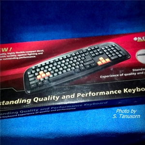 USB Keyboard OKER KB-25A Black