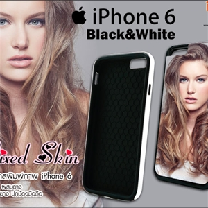 [ip-07] iPhone 6 เนื้อ PVC ผสมยาง Mixed Skin